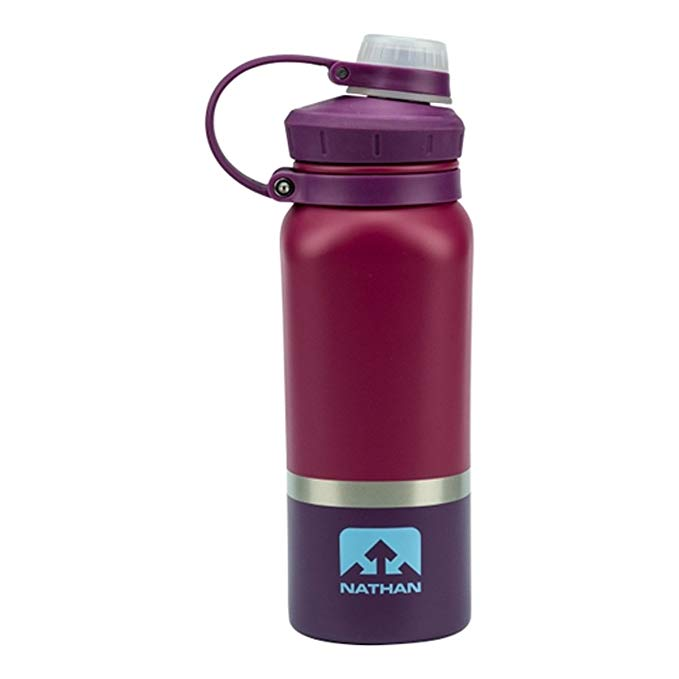 Nathan Hammerhead 3-Tone Stainless Steel 24oz Water Bottle (Sangria)