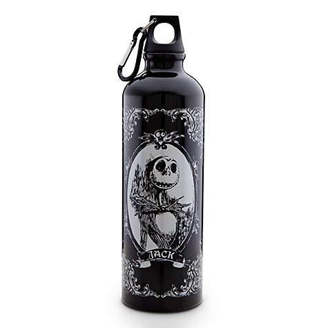 Jack Skellington Nightmare Before Christmas Tim Burton Disney Water Bottle