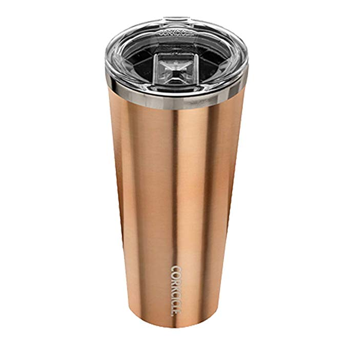 Corkcicle Tumbler Insulated Stainless Steel Bottle/Thermos, 24 oz, Copper