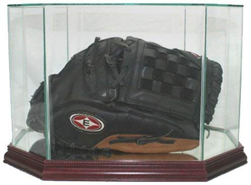 Perfect Cases MLB Octagon Baseball Glove Glass Display Case