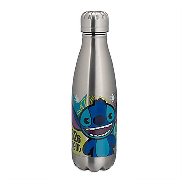 Disney Lilo & Stitch Stainless Steel Water Bottle - 12 Oz